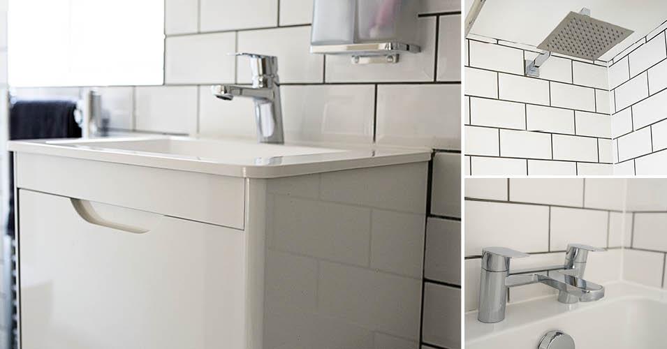 Monochrome bathroom ideas BH MDM