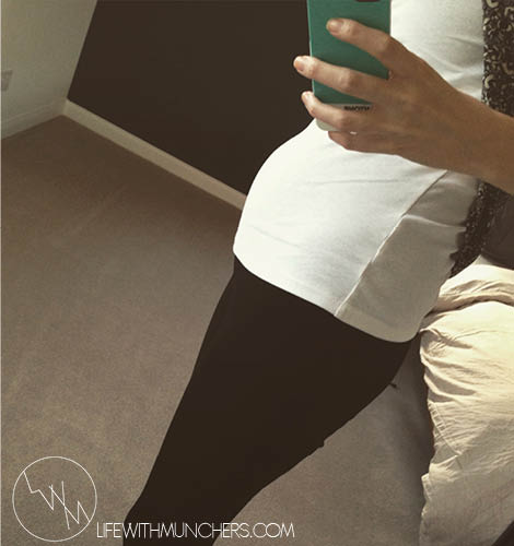 13 week bump