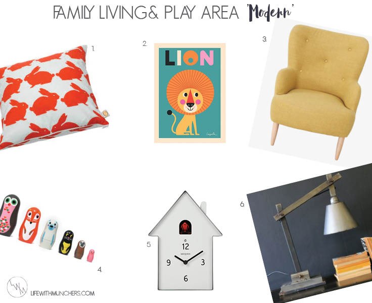 Bloggers Homes | Crayons in my Mui Mui Living & Play Room