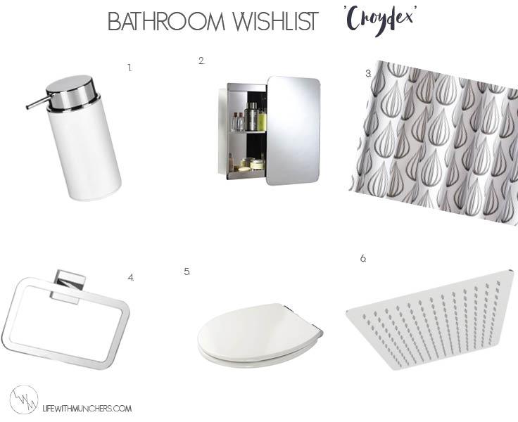 Croydex Bathroom Wishlist