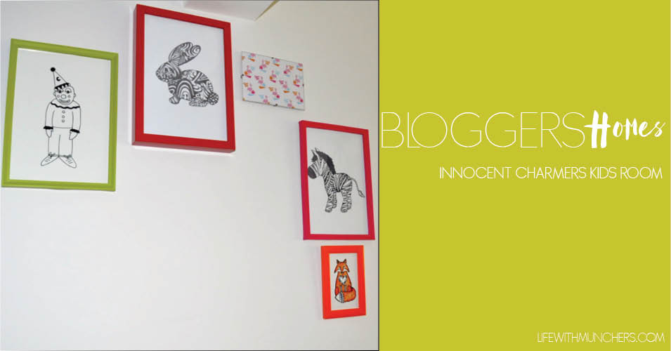 Bloggers Homes | Innocent Charmer Chats Kids Bedroom