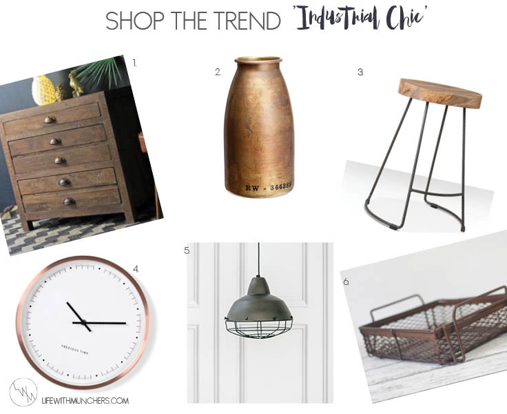 Shop The Trend | Industrial Home Accessories