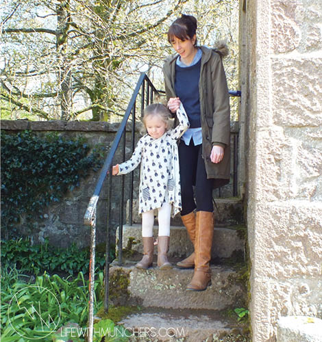 Castle Trips, House Renovations and Baby Squirms