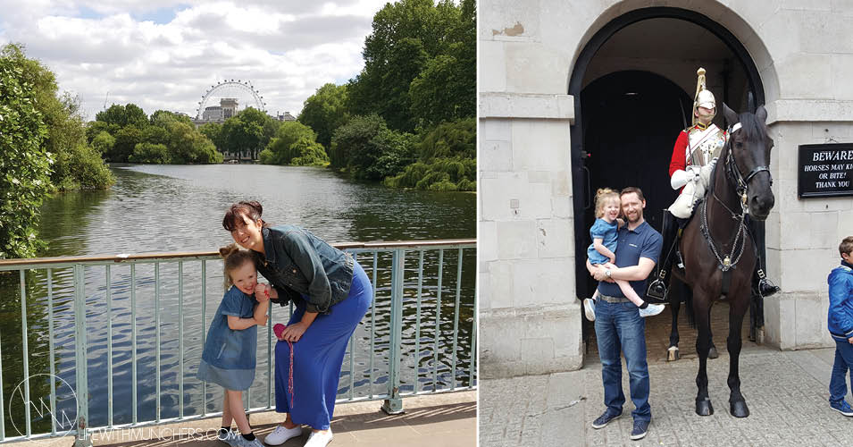 London trip with kids 5