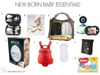 baby essentials list