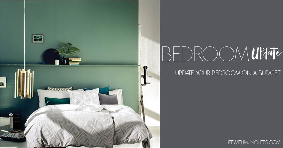 How To Update Your Bedroom On A Budget Family Home Lifestyle Blog Life With Munchers