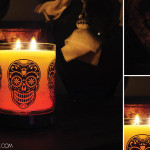Partylite halloween candle