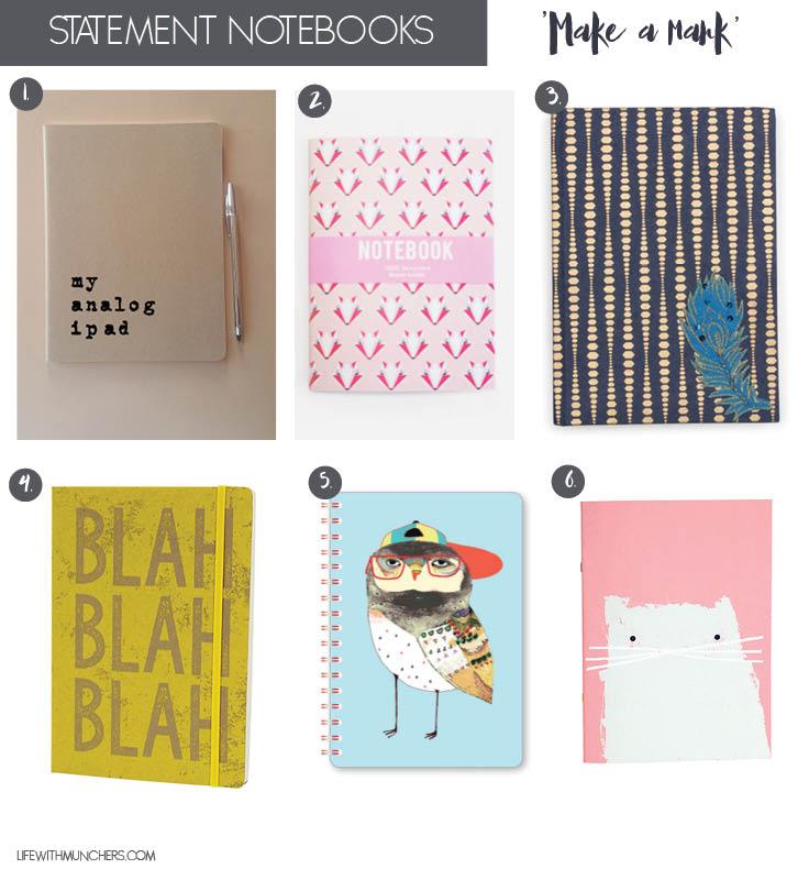 Funky notebooks
