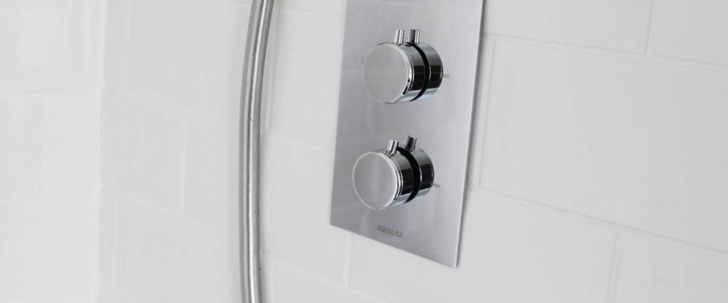 Modern shower fittings