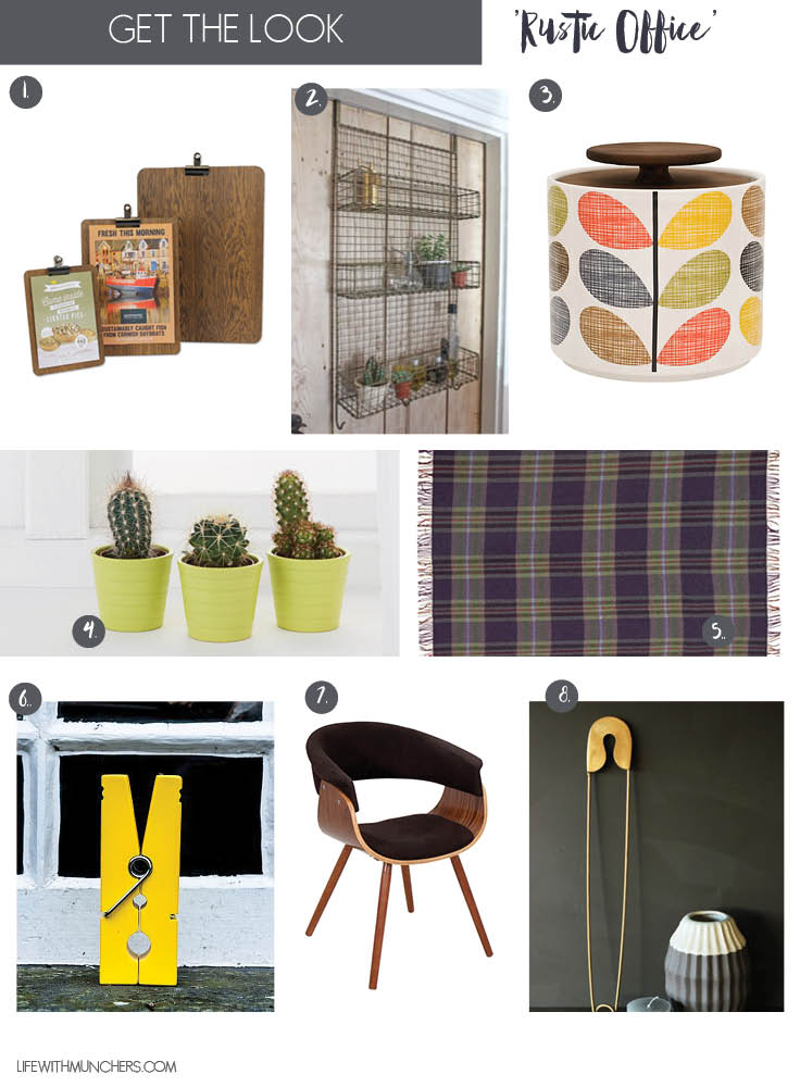 rustic office home accessories and decor ideas