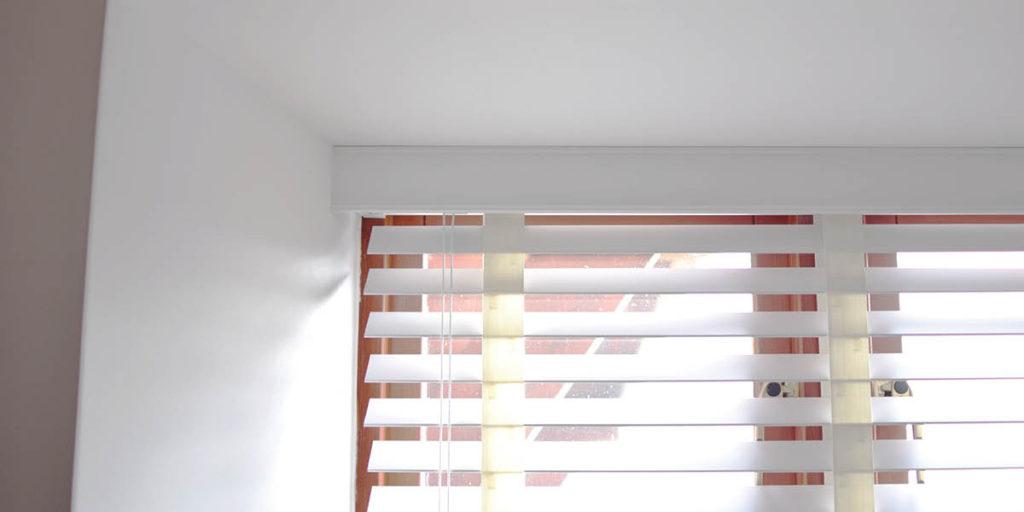 Clover & Thorne Wooden Blinds in White Gloss