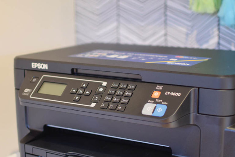 Epson ET-3600 family review