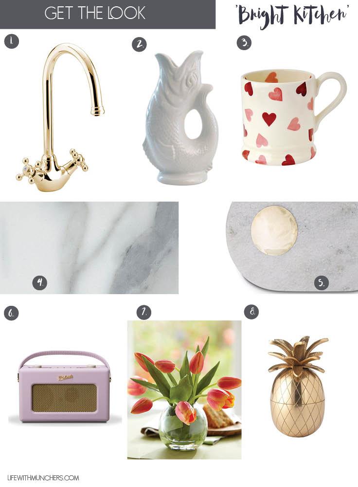 Bright kitchen decor ideas