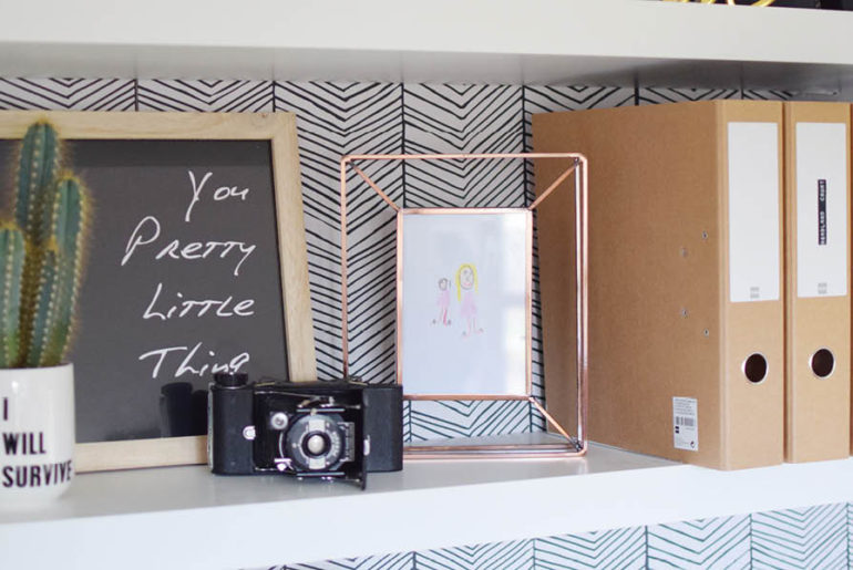 industrial home office tour