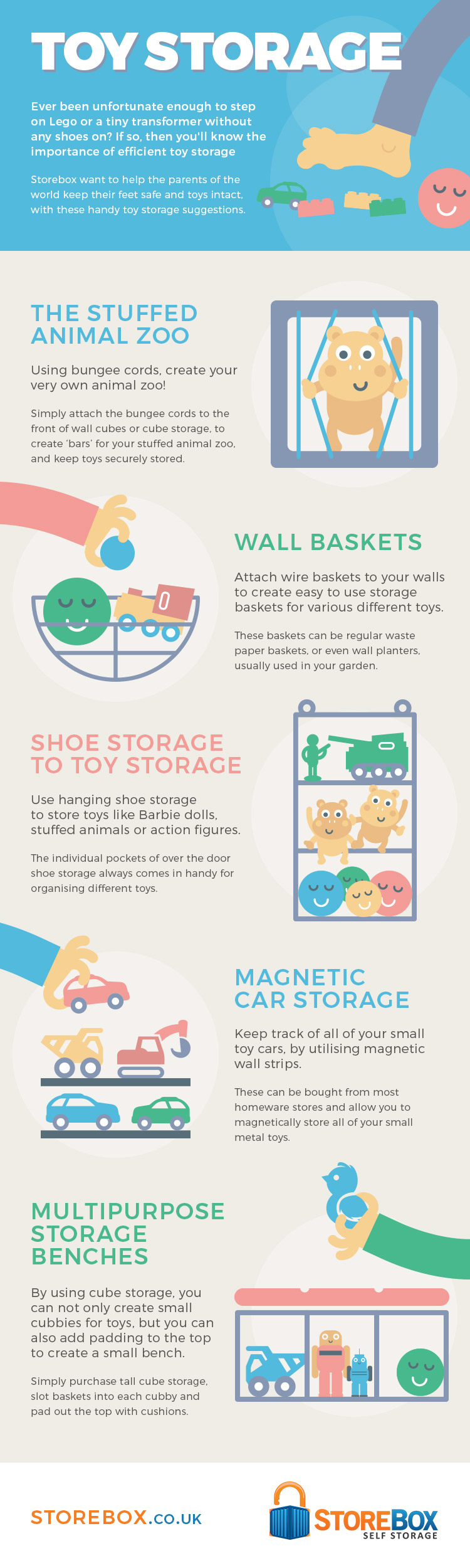 Getting creative with your toy storage ideas