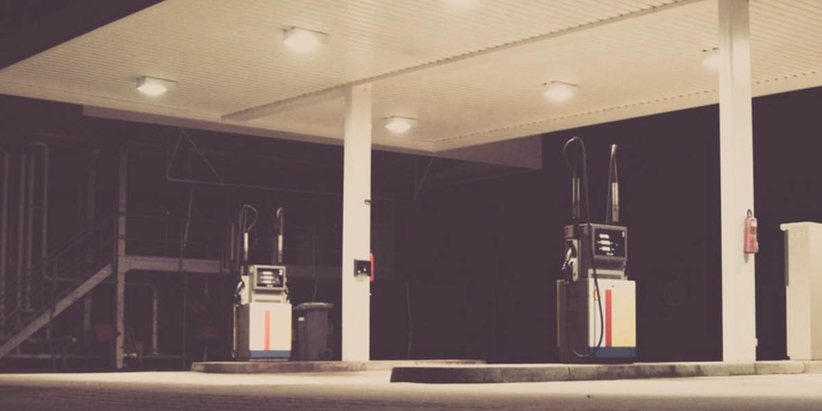 Petrol Stations Through The Ages