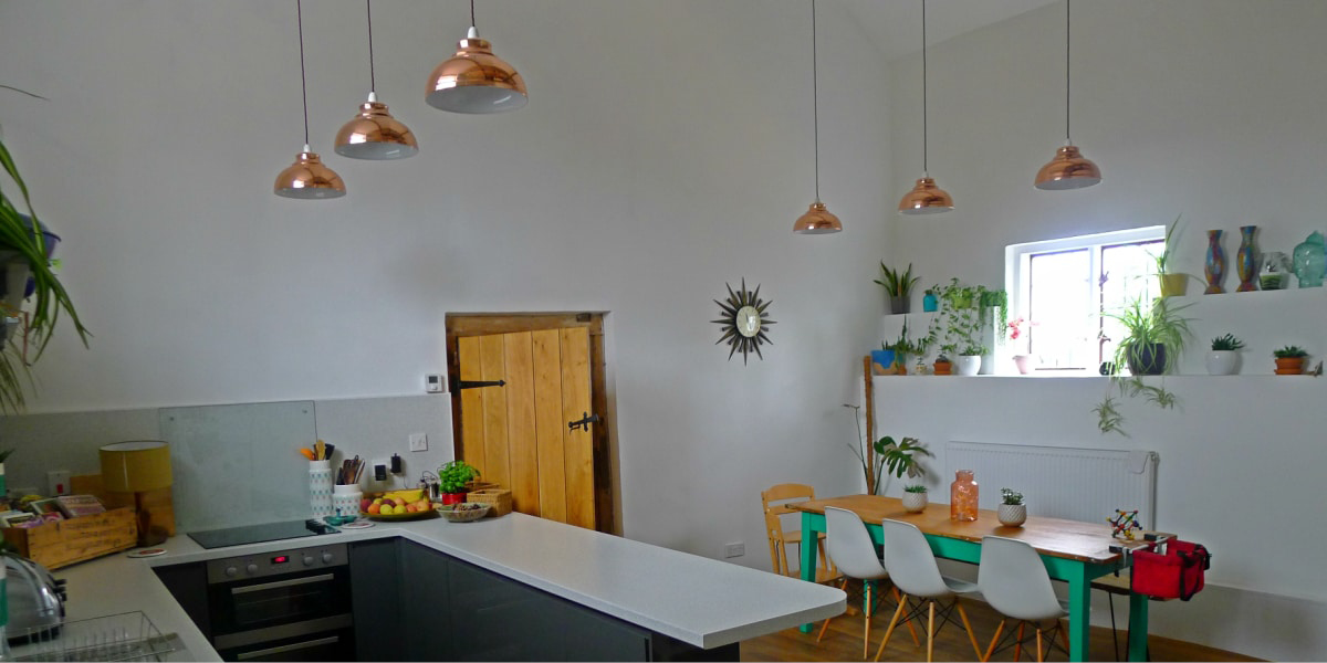 Bloggers homes kitchen feature