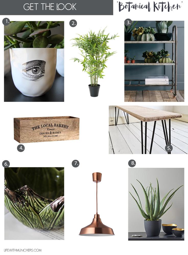 Botanical Kitchen decor ideas