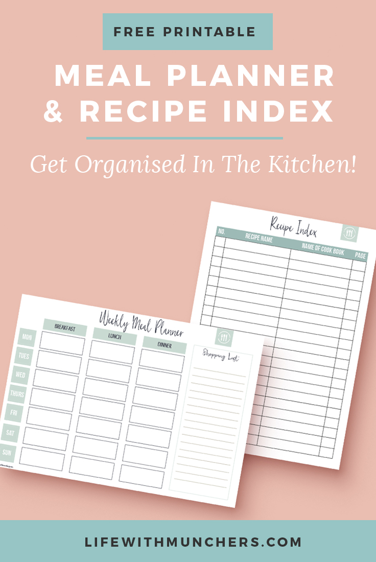 Meal Planner 2017 Printable