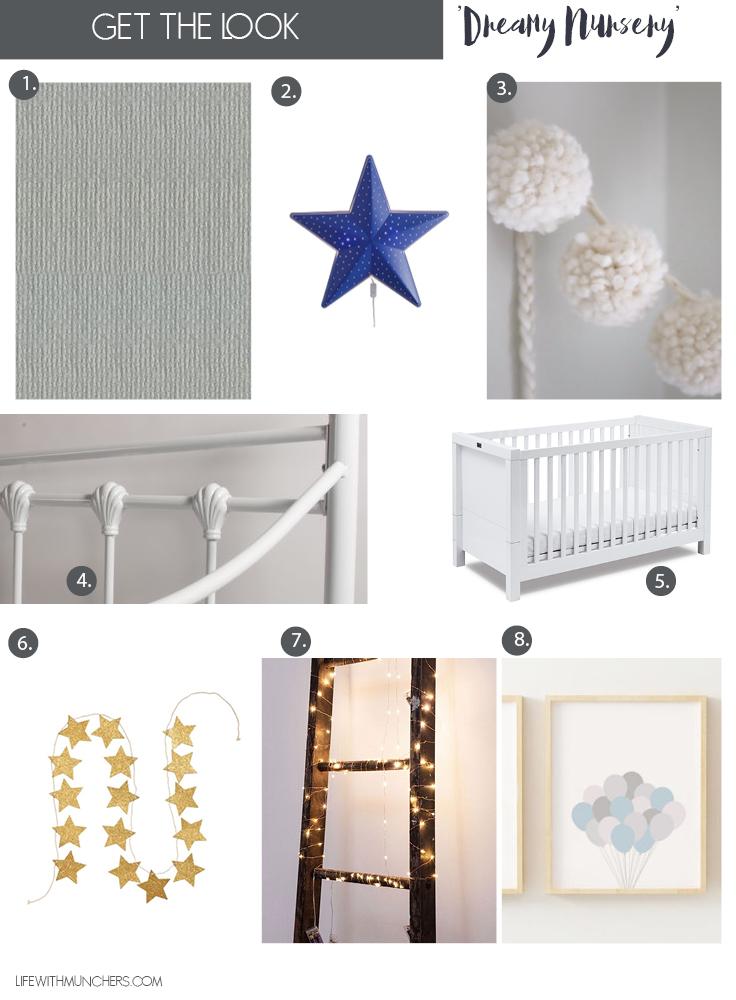 Dreamy nursery ideas