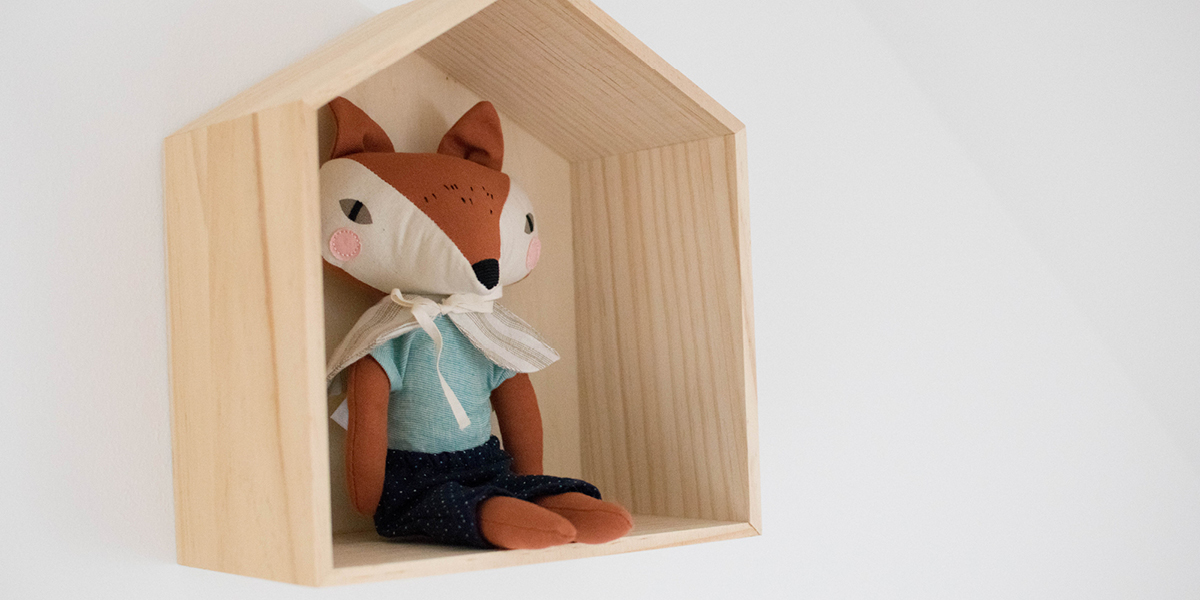 Fox themed nursery tour