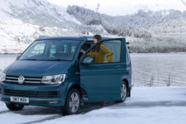 VW California Scottish Highlands road trip