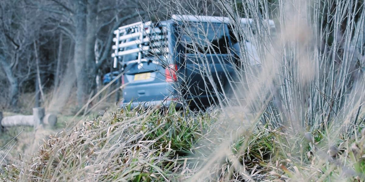 VW California Scottish Highlands road trip