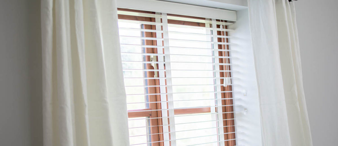 Dressing Living Room Windows With Apollo Blinds